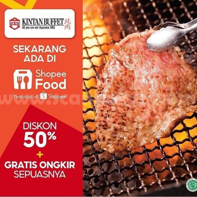 Shaburi & Kintan Buffet Promo DISKON 50% + Gratis Ongkir via  ShopeeFood
