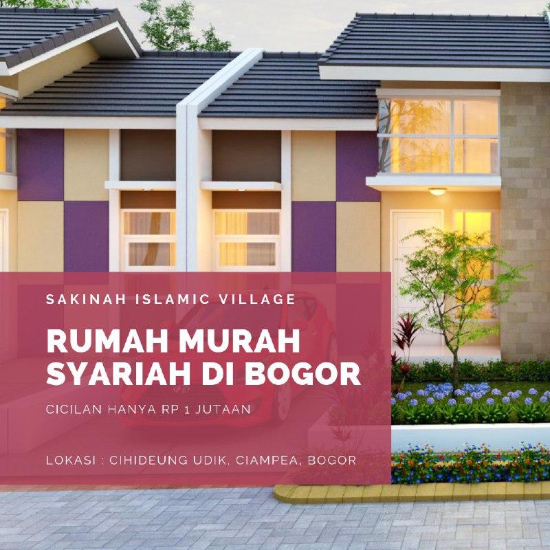 Sakinah Islamic Village Bogor.Alhamdulillah !!Sakinah Islamic Village Bogor mulai awal Maret 2020 kemarin sudah melakukan progress *Land Clearing* dan *Cut and Fill*