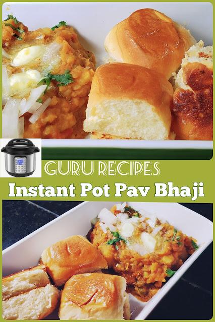 Instant Pot Pav Bhaji Masala | Pav Bhaji Masala Recipe in Instant Pot