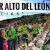 Subida alto del Leon por navidad 2019