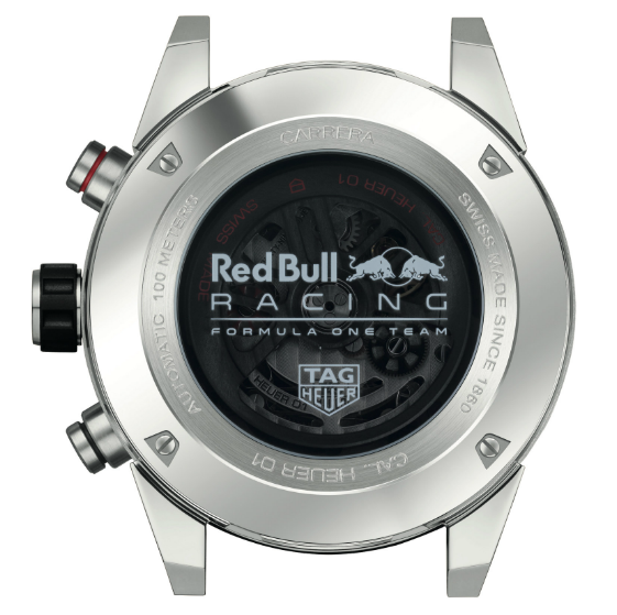 Fondello TAG Heuer Carrera Calibre Heuer-01 45 mm Red Bull Special Edition
