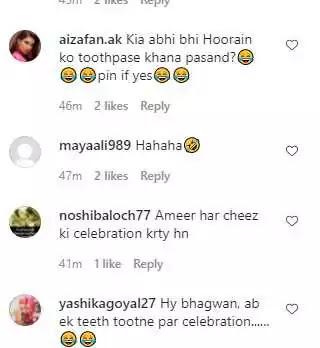 Ayeza Khan's Daughter Hoorain Loses Her First Tooth!