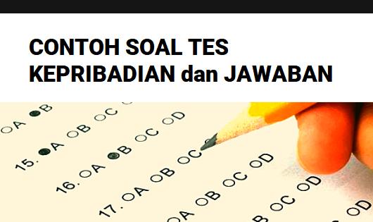 Bahasa indonesia nomor 16 sampai dengan nomor 30. Contoh Soal Tes Kepribadian Tkp Cpns Ppg Guru Guru Geografi