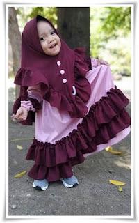 Baju gamis anak