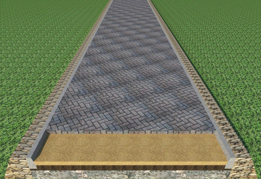 Gambar Harga Pasang Paving Block M2 Model Pemasangan 1 Gambar Jalan di Rebanas - Rebanas