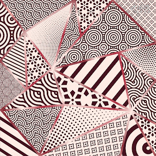 Compilation of Abstract Design for Scarf, Scarves, Hijab & Shawl