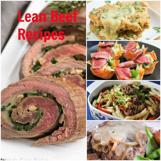 Easy Lean Beef Recipes | The Chef Next Door #SundaySupper