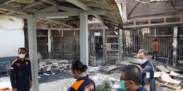 Bertambah Lagi, Narapidana Meninggal usai Kebakaran Lapas Tangerang jadi 46 Orang