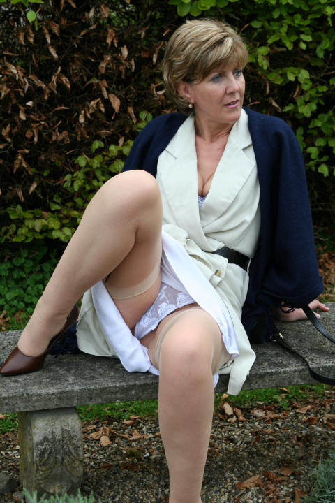 British mature upskirt that interrupt you