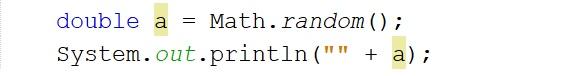 Generar números aleatorios en java