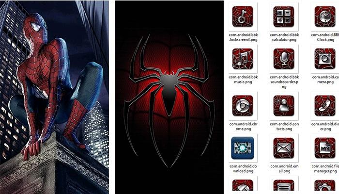 Spider Man Theme Itz For Vivo Vivo Themes Itz