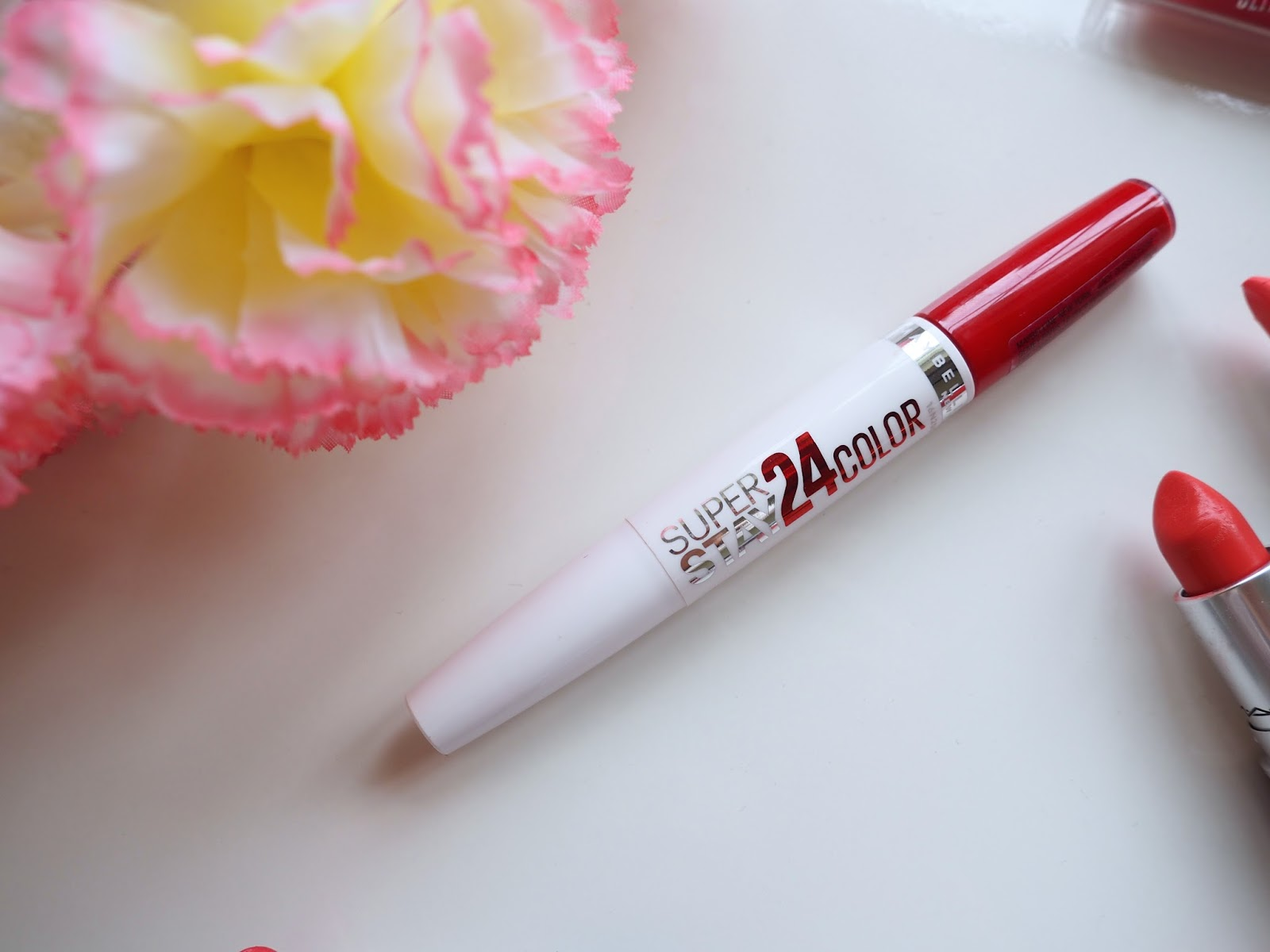 It's Cultured Spring/Summer Lip Colours Maybelline Super Stay 24 in Red Passion