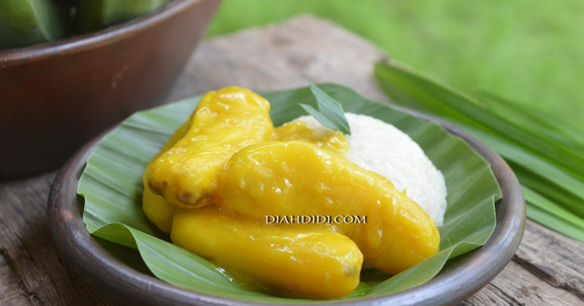 Resep Cake Pisang Diah Didi: Diah Didi's Kitchen: Pangek Pisang Khas Solok Sumatra