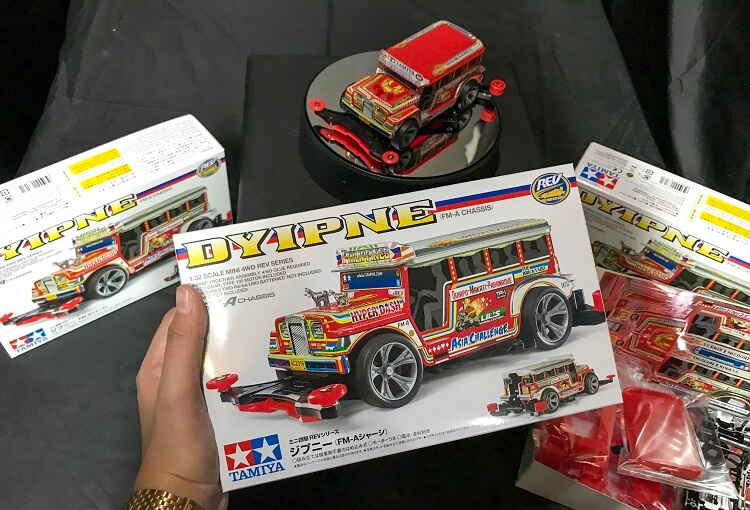 Tamiya Dyipne Mini 4WD Kit