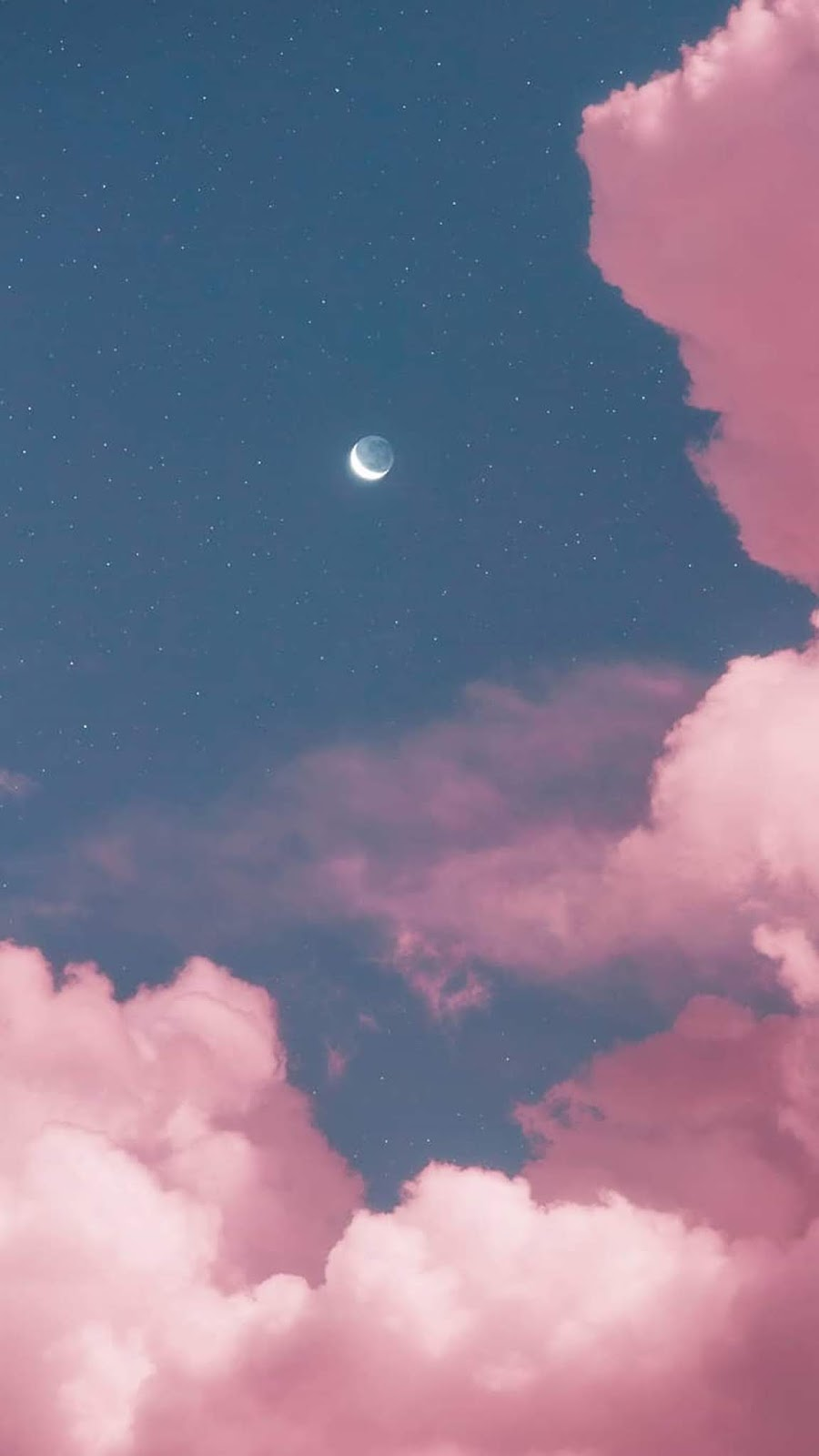Two moon in the pink sky by @matialonsor