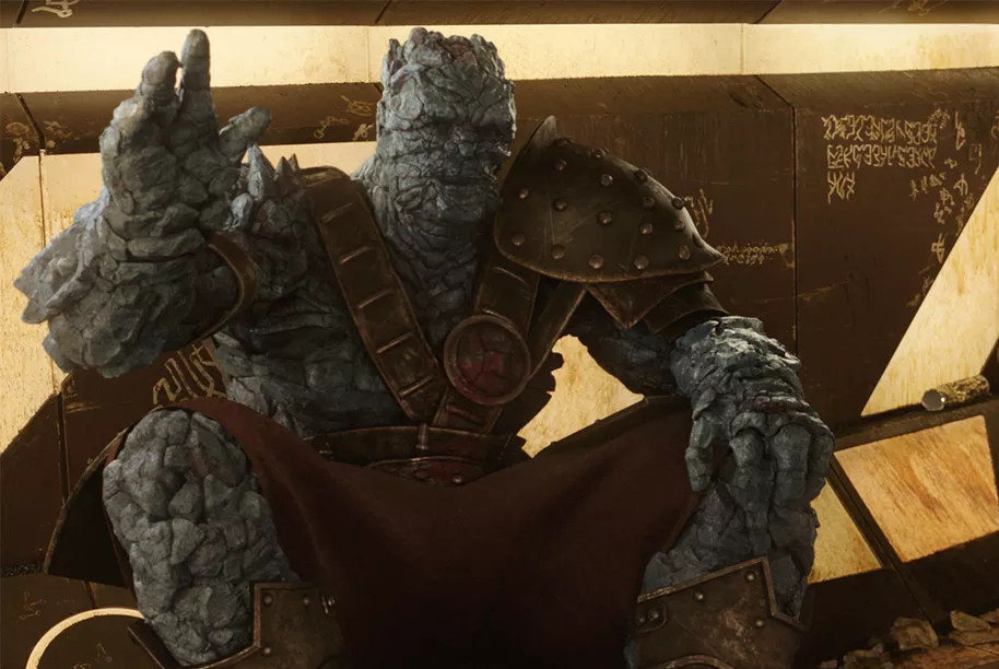 Korg will be a more important character in Thor: Love and Thundert
