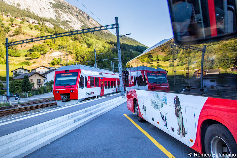St. Bernard Express Things to Do Martigny Switzerland