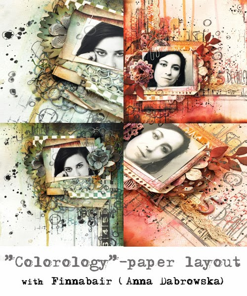 Atelier Colorology avec Finnabair à Version Scrap Paris 2015