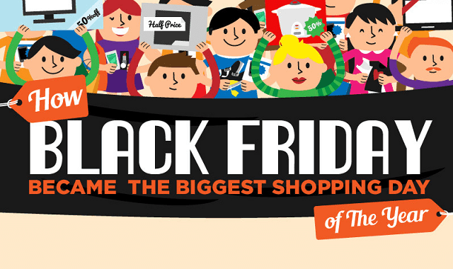 Image: How Black Friday Became The Biggest Shopping Day of The Year