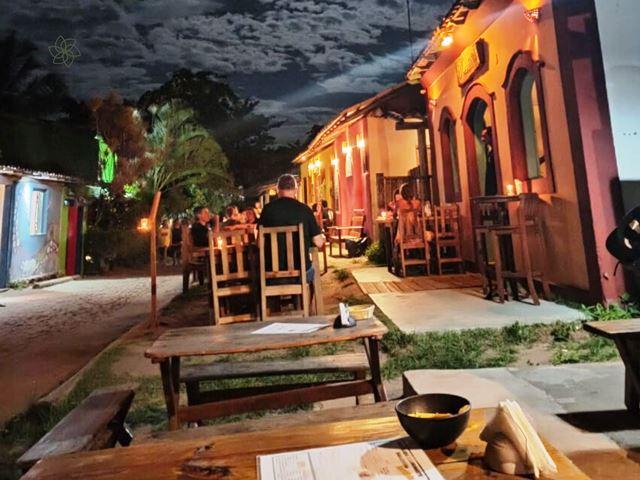 Uma noite em Caraíva em foto de Pedro Nogueira dos Santos