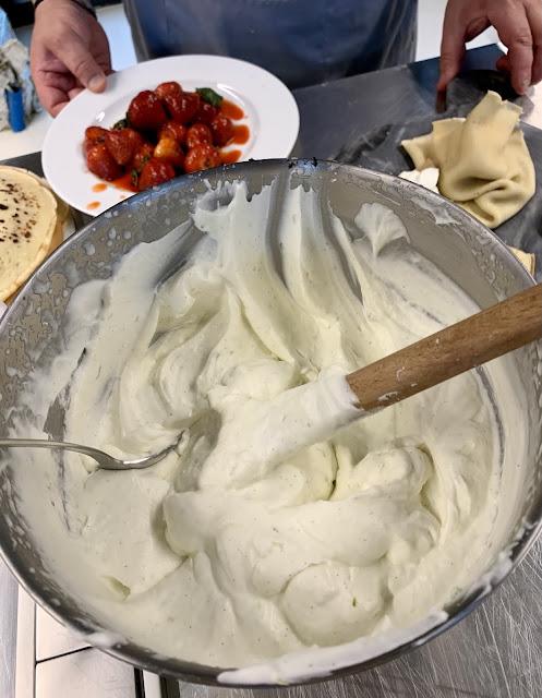 warsztaty, truskawki, tomek jakubiak, nalesniki, chlodnik, salatka, bernika, kulinarny pamietnik