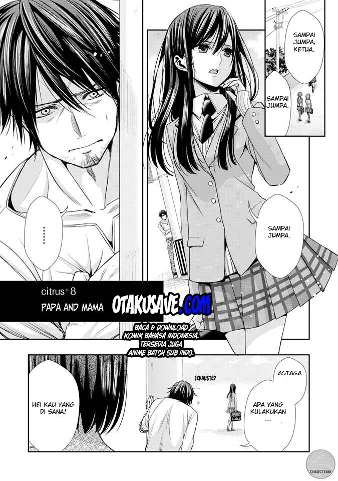 Citrus Chapter 33,5 Papa And Mama