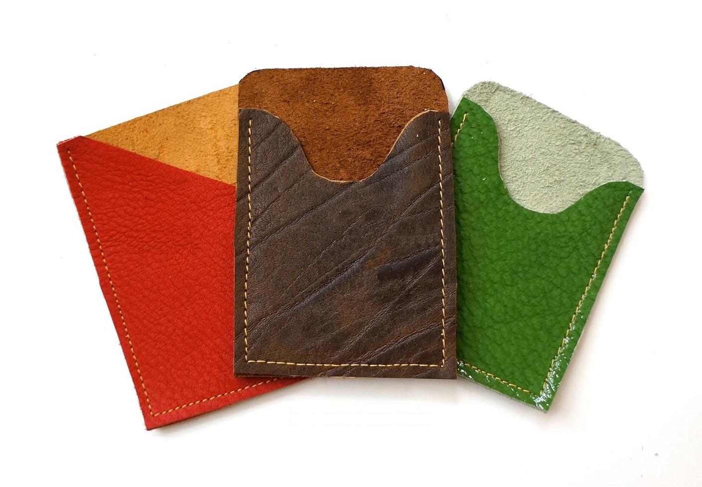 Leather Card Holders Tutorial