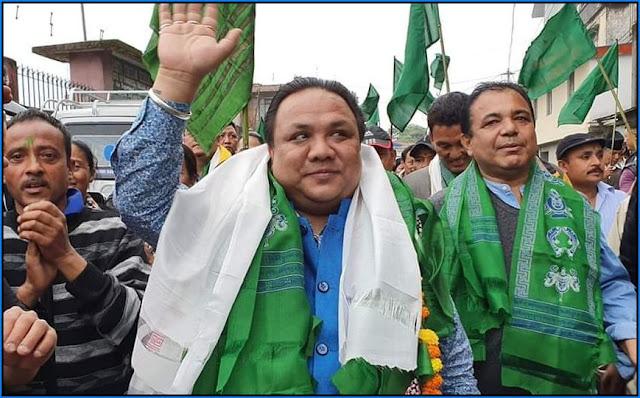Neeraj Zimba BJP MLA Darjeeling
