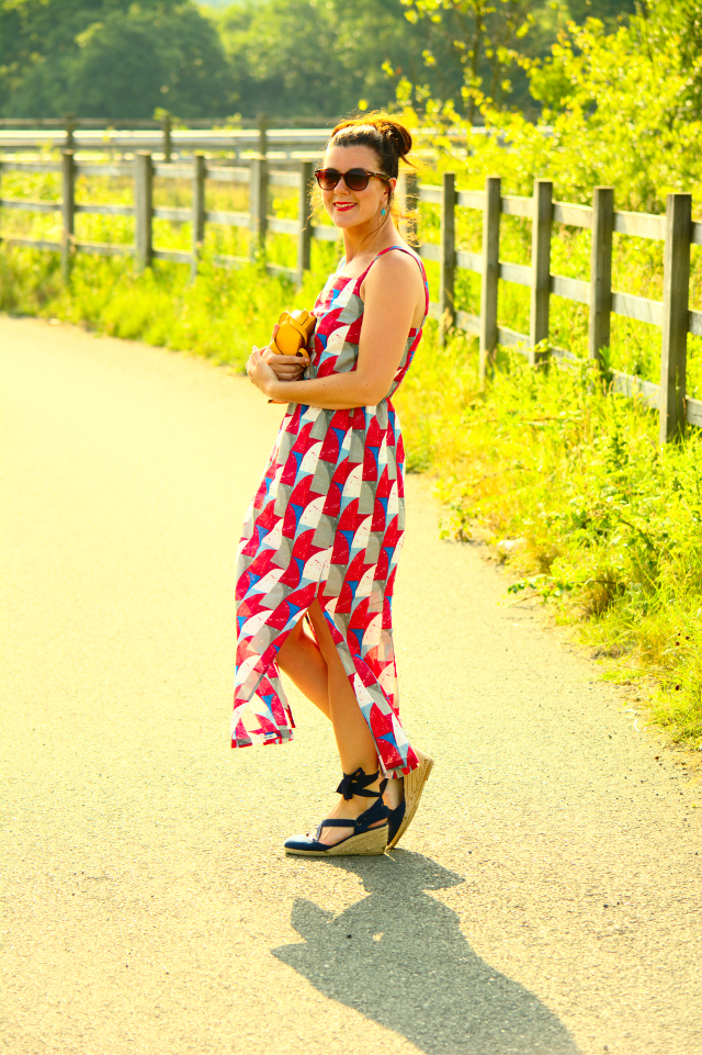 Breezy Summer Dress (& #Passion4Fashion Linkup)