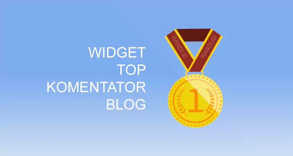Membuat Top Komentator Blog