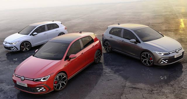 VW Golf GTI, GTD e GTE Mk8 2021: fotos e detalhes oficiais