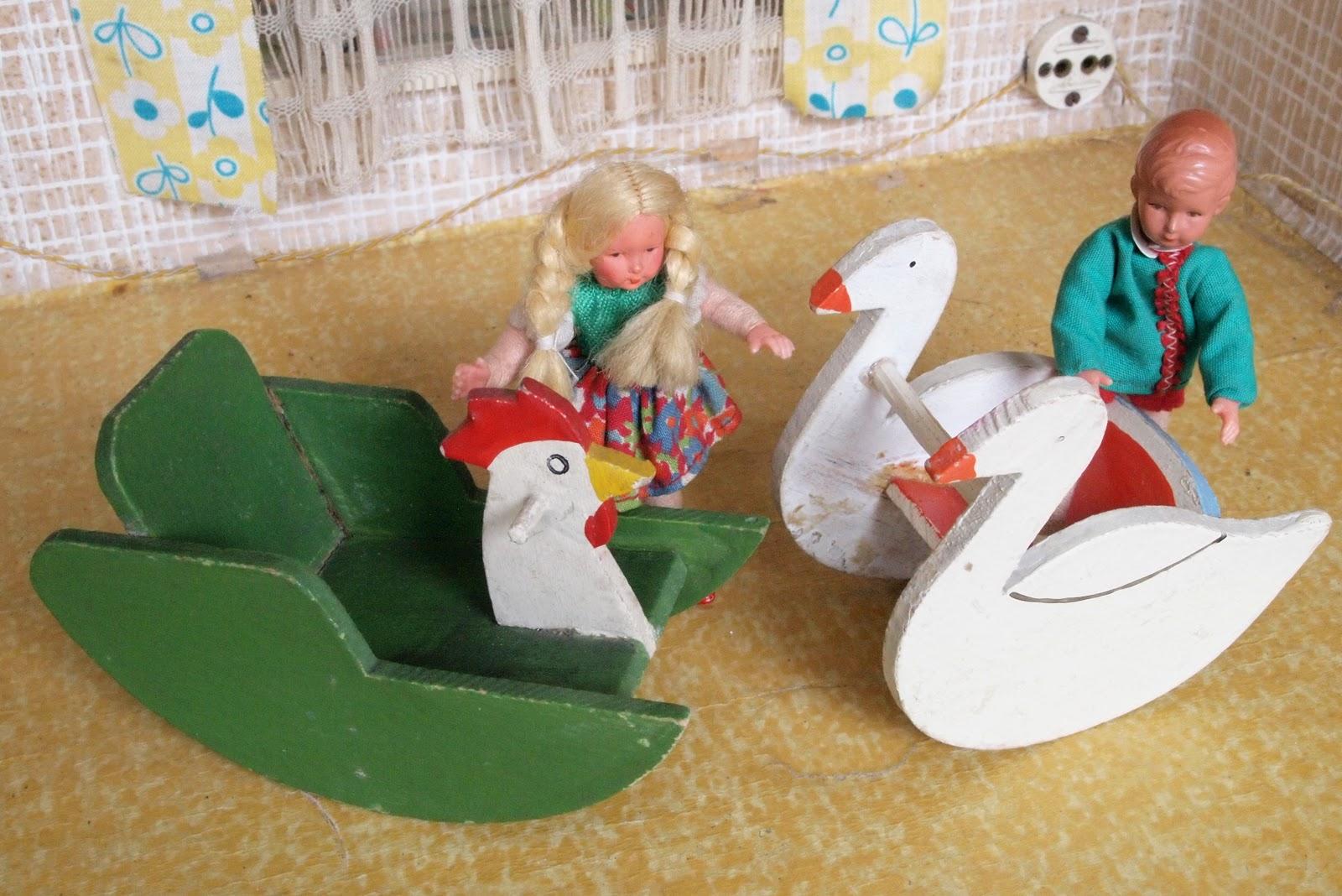 Diepuppenstubensammlerin: kinderzimmer nurseries
