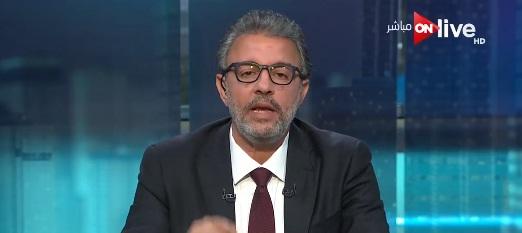 برنامج أون اليوم حلقة يوم الجمعة 12-1-2018 عمرو خفاجى