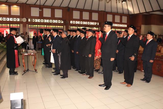 Perdana Letkol Kav Minarso,SIP Hadiri Rapat Paripurna Anggota DPRD Kab Klaten