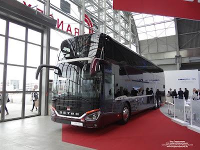 Setra S531 DT, EvoBus, TransExpo 2018