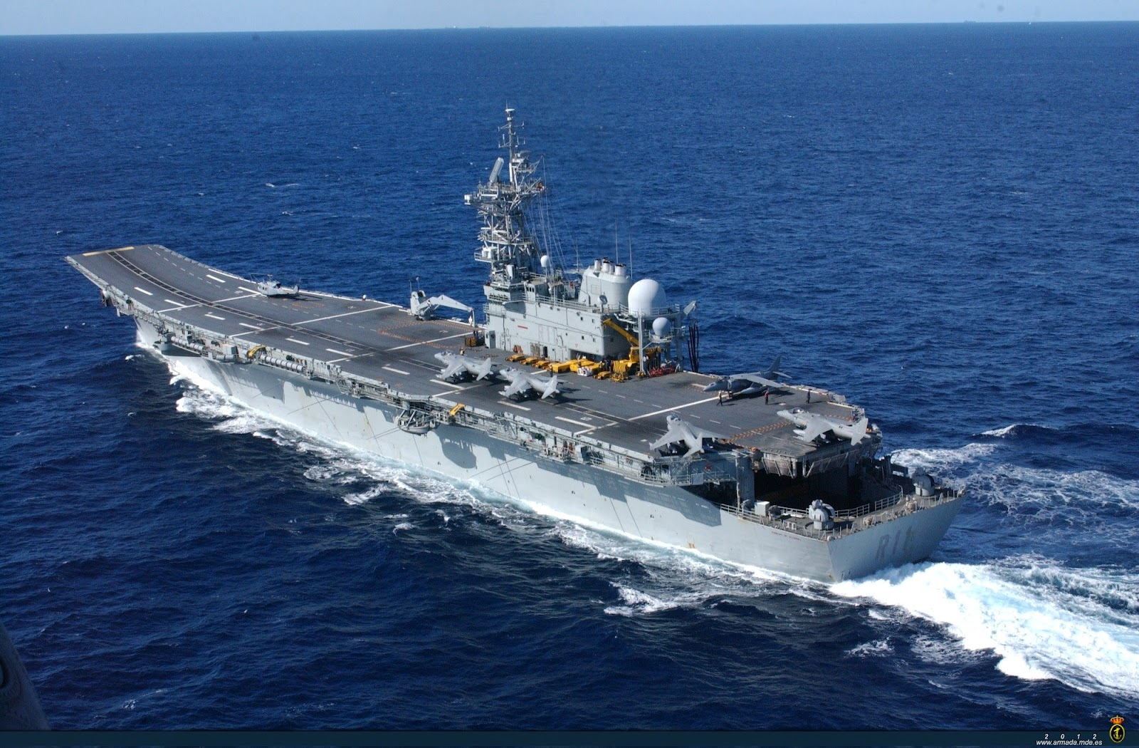 Naval Open Source INTelligence: Several countries ...Spanish Aircraft Carrier