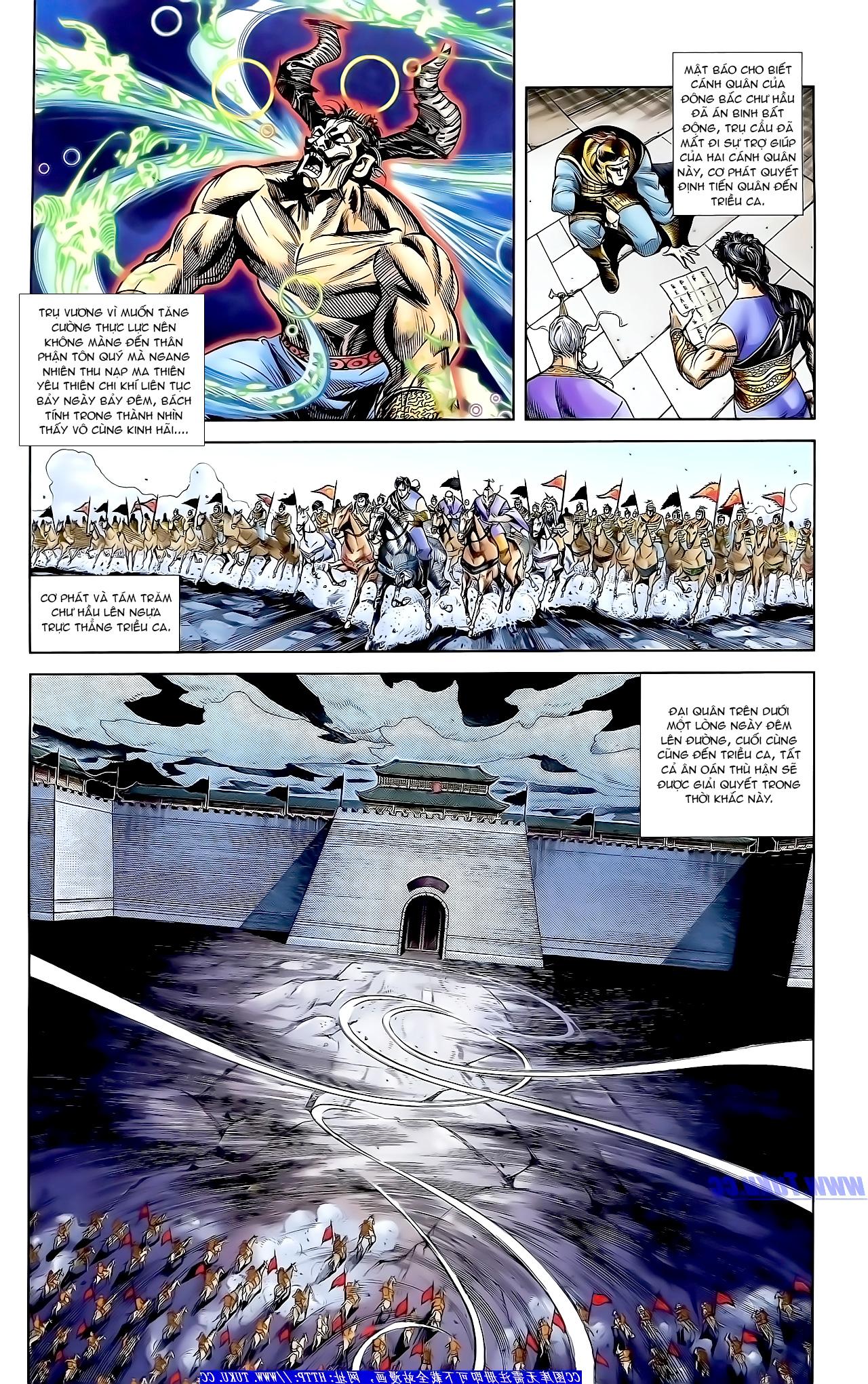 Cơ Phát Khai Chu Bản chapter 160 trang 4