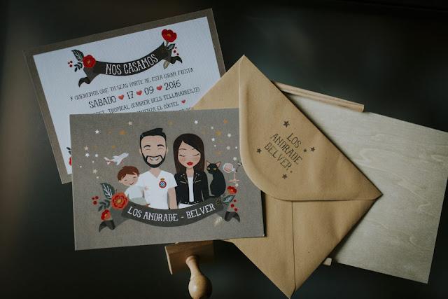 invitacion boda original - blog mi boda