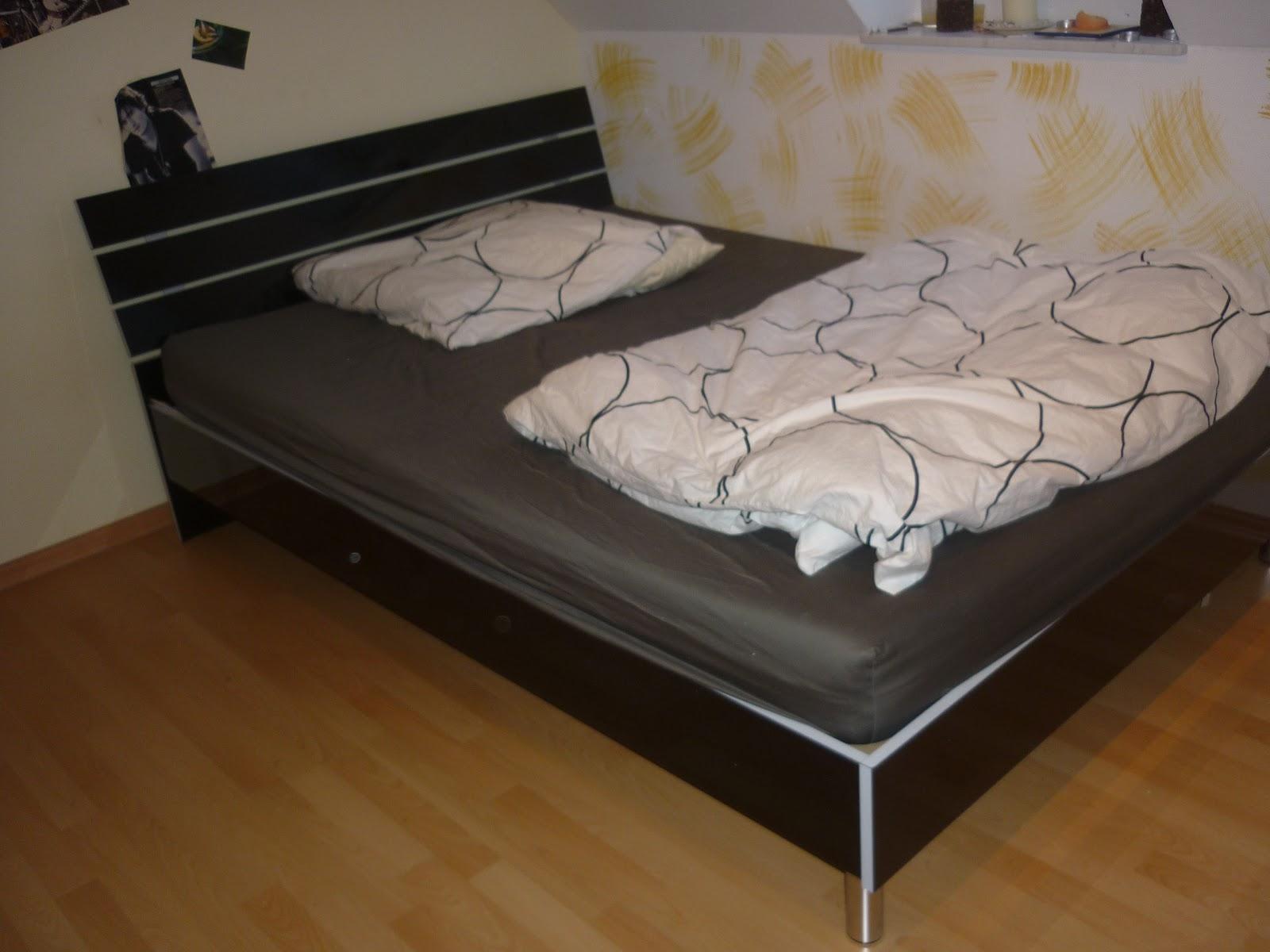 kosmetikjunkie1512 mein neues bett. Black Bedroom Furniture Sets. Home Design Ideas