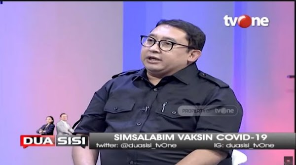 Fadli Zon: Jokowi Janjikan Vaksin Merah Putih, Kok Jadi Vaksin Palu Arit?