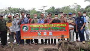 Kolaborasi Penyuluh Pertanian Dan Penyuluh Perikanan Kabupaten Lampung Timur Dalam Rangka Penumbuhan Poktan Dan Pokdakan Desa Negara Nabung