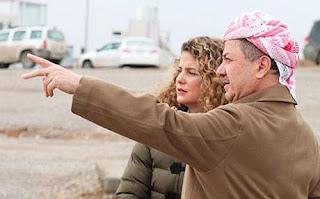 صراع القزم مسعود بارزاني مع العراق العظيم و ليعلم ان معركته خاسره !