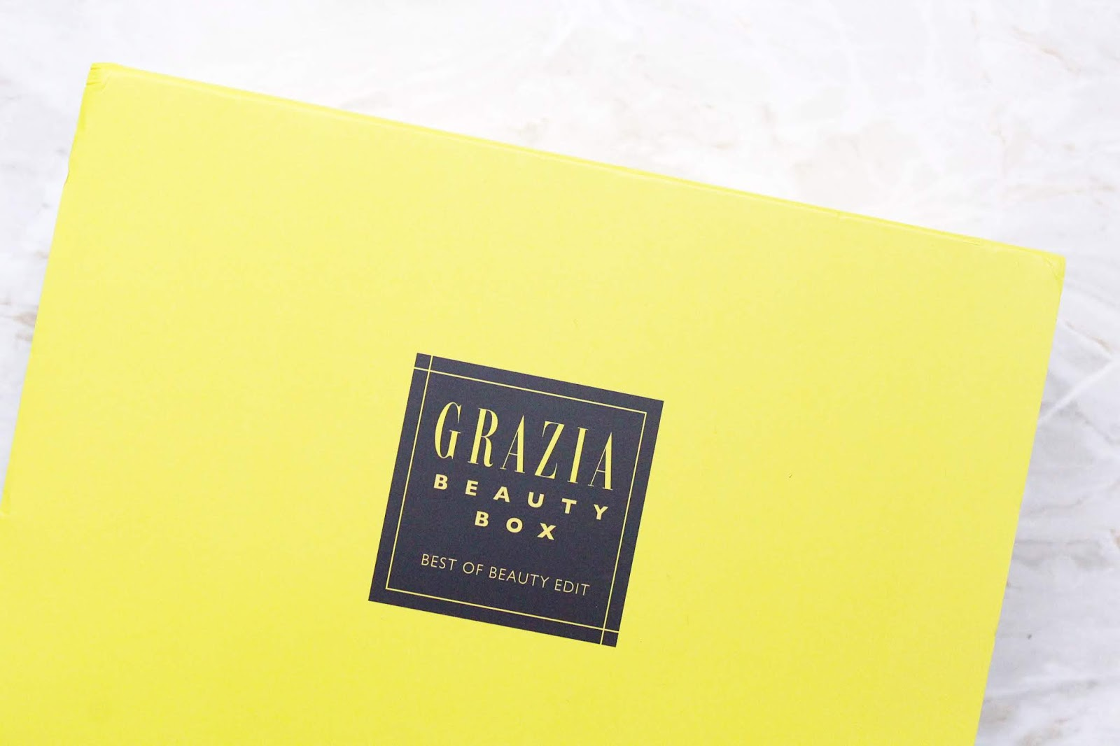 Latest in Beauty Grazia Beauty of Beauty Box