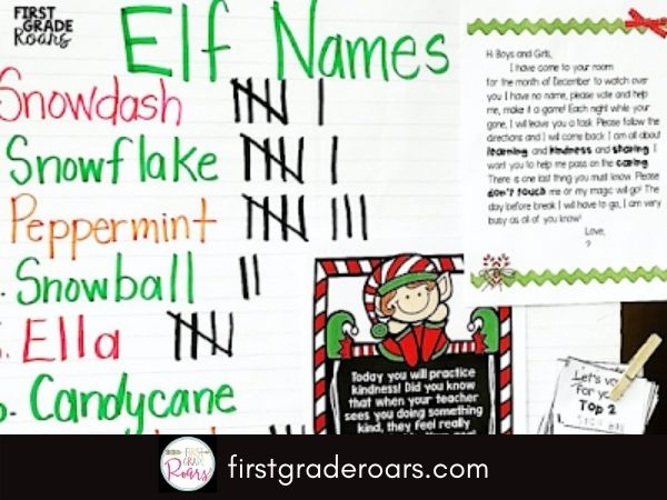 Elf activities will bring your classroom to life during the month of December. Students work on spreading kindness when the elf appears. Engaging activities are just what you need in December.