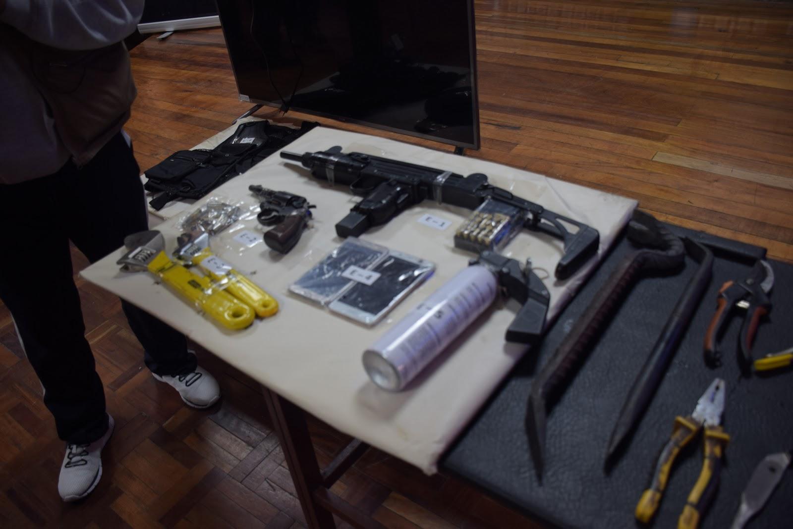 Desde enero se ha incrementado el reporte de posesión de armas para delinquir / ÁNGEL SALAZAR