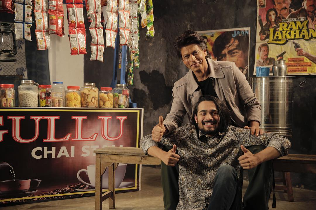 Bhuvan Bam With His Shah Rukh Khan (SRK)