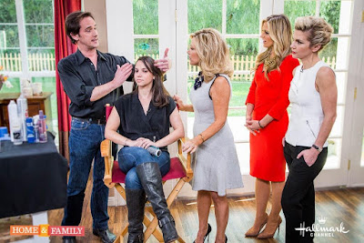Celebrity hairstylist Billy Lowe shares health and beauty tips on Home and Family