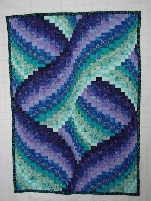 Twisted Bargello Quilt Free Step By Step Tutorial