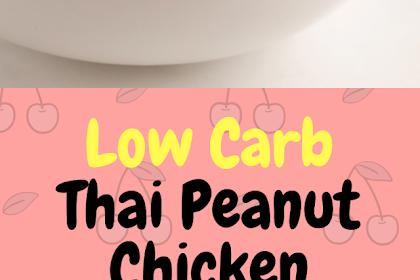 Low Carb Thai Peanut Chicken Salad!!!