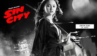 El personaje de Miho en Sin City